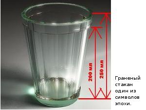 Таблица соответствия веса и объема