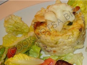 Овощное диетическое суфле