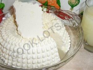 Домашний сыр Панир