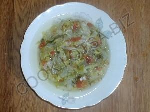 Суп для похудения или луковый суп с сельдереем