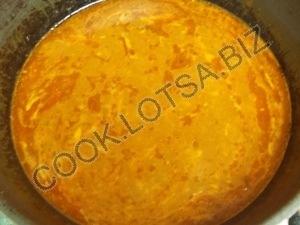 Тефтели с рисом в соусе