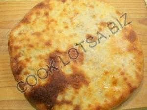 Осетинский пирог с мясом и рисом